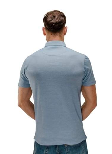 Comienzo Tişört Mavi
